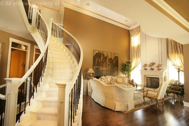 Pro stair railing custom stairs london ontario for Dream house photo gallery